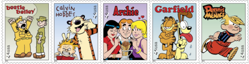 comic strip stamps