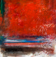 """""""It is a painting"""" by Nobuaki Nakashima Oil on canvas, 60 x 60 inches"""